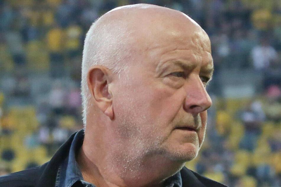 Dynamo-Idol Hansi Kreische ist besorgt um seinen Verein, dennoch hat er den Optimismus noch nicht verloren.