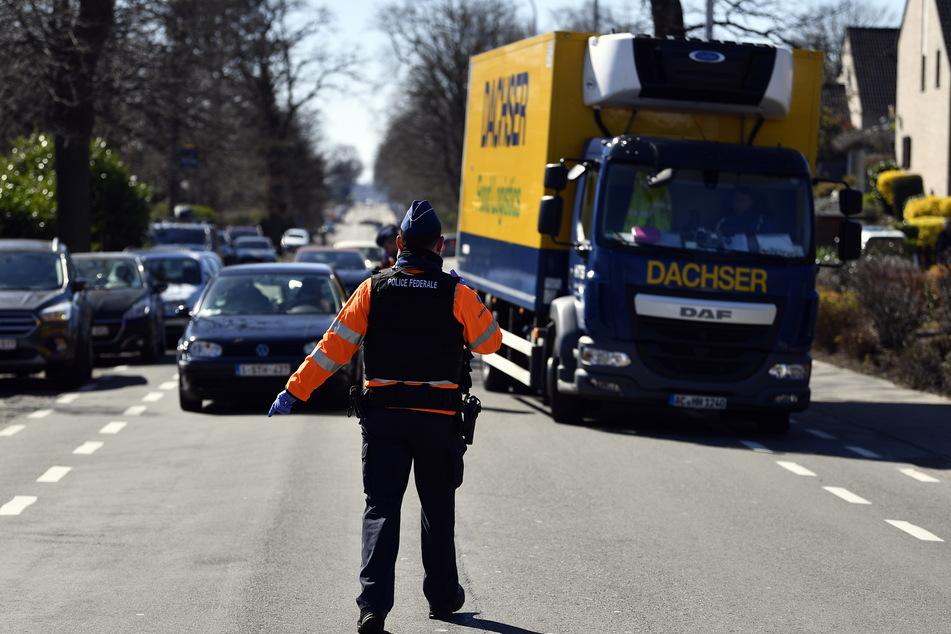 Vignetten könnten die Kontrollen an der Deutsch-belgischen Grenze beschleunigen.
