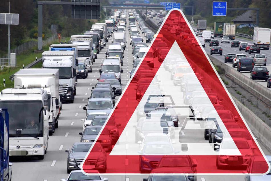 Stau-Frust, statt Urlaubs-Lust! Autobahnen vollkommen dicht