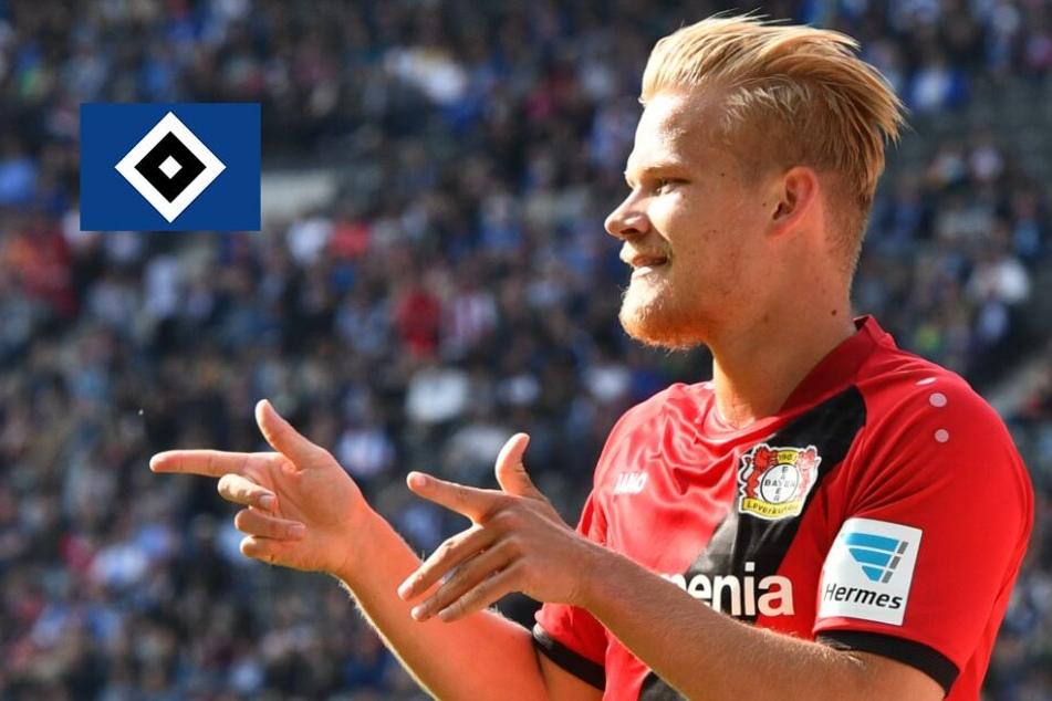 Deal fix! HSV schnappt sich Stürmer-Schreck aus Bundesliga