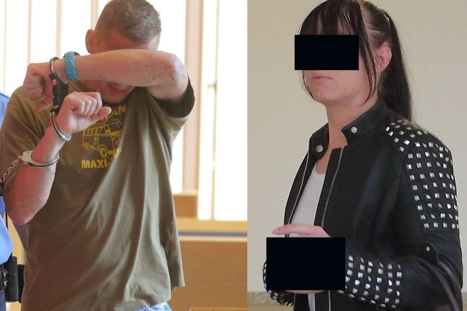 Die beiden Angeklagten schweigen.