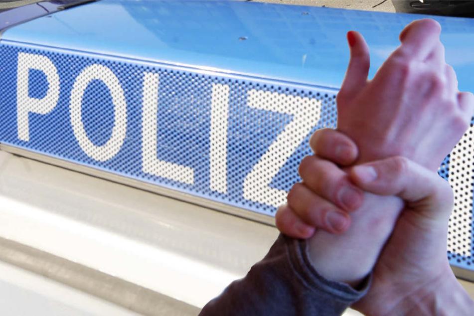 Die Frau wurde gegen ihren Willen in einen Mercedes gezerrt. Die Kriminalpolizei ermittelt (Symbolbild).