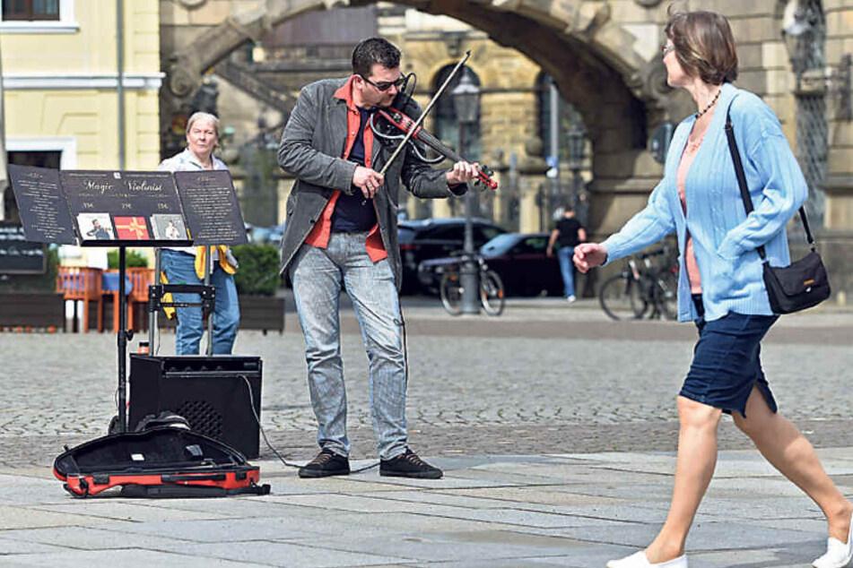 Dresden: Zu laut! Dresdens Straßenmusiker kommen wieder auf die Tagesordnung