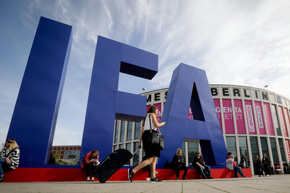Vom 1. bis 6. September findet die IFA auf dem Messegelände in Berlin statt.
