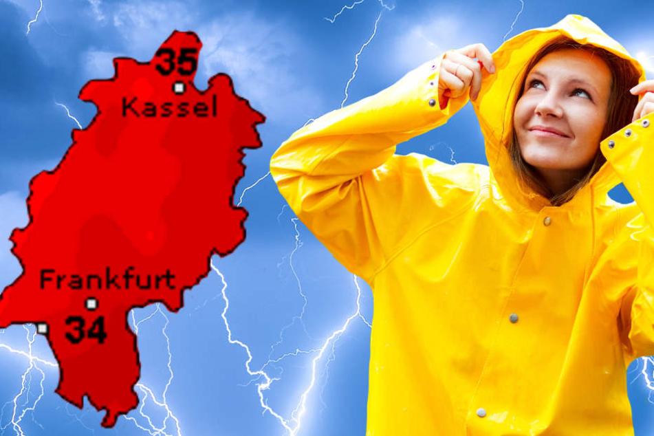 Auch Wetteronline.de sagt für den Donnerstag noch einmal sommerliche Temperaturen voraus (Grafik). Außerdem sind schwere Gewitter wahrscheinlich.