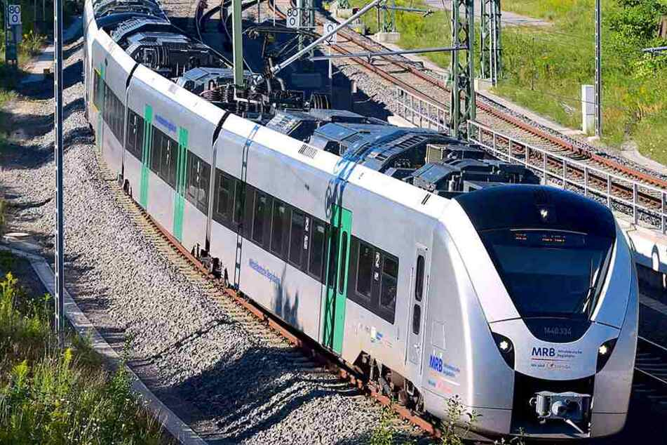 Die Flitzer der Mitteldeutschen Regiobahn werden wegen Bauarbeiten am Netz  zeitweise durch Busse ersetzt.