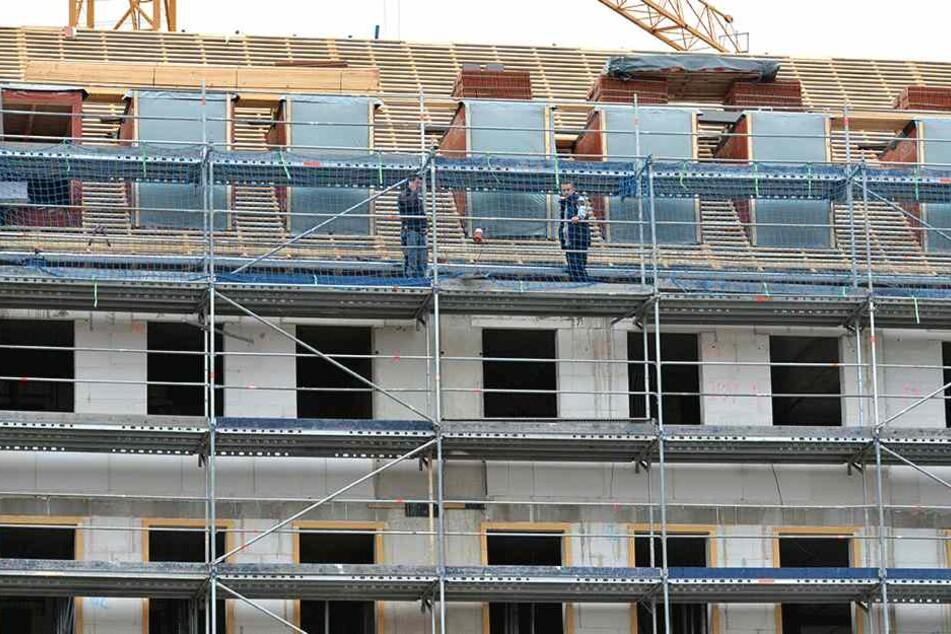 Die neuen Dachgauben werden nach historischem Vorbild gefertigt.