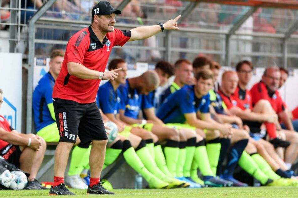 SCP-Trainer Steffen Baumgart war mit der Leistung seiner Mannschaft zufrieden.