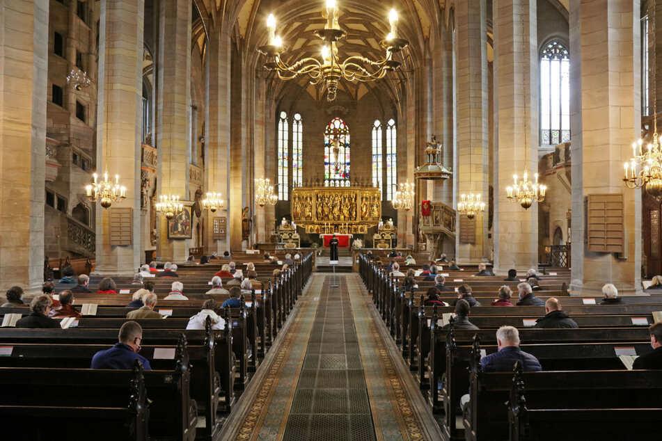 Gottesdienst ja, aber eingeschränkt. Zum Reformationsfest 2020 zeigte der Zwickauer Dom, wie es geht.