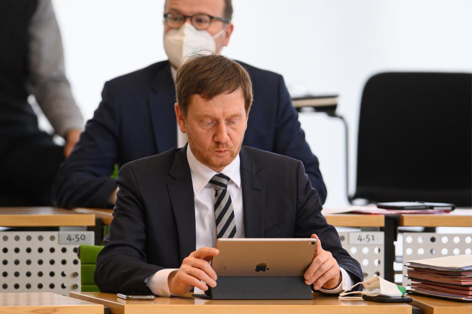 Michael Kretschmer (45, CDU) will Impfstoff-Sonderlieferungen für das Vogtland ermöglichen.