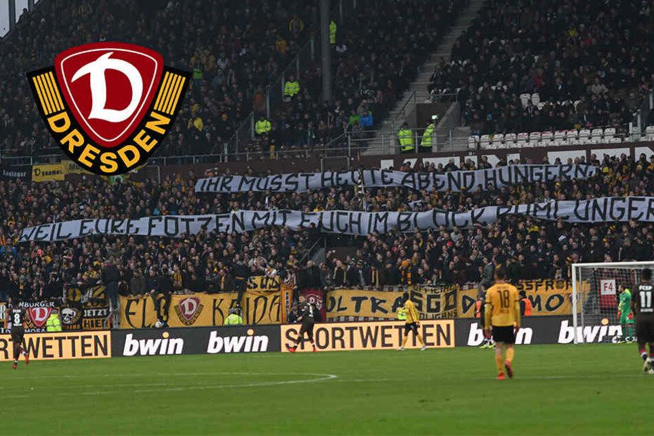 Dynamo Dresden muss blechen: 40.500 Euro wegen Banner, Hitlergruß und kaputten Klos