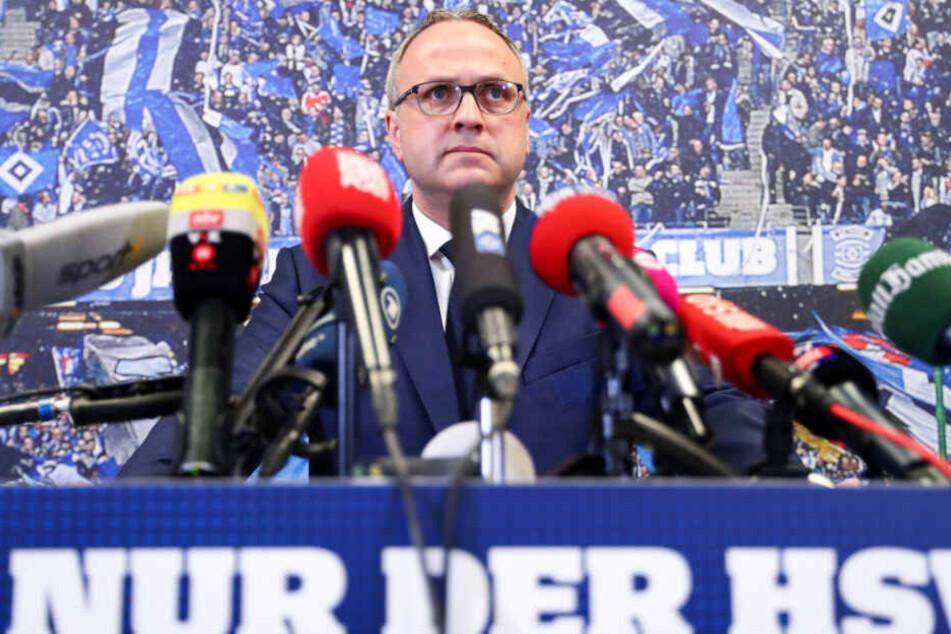 Finanzvorstand Frank Wettstein hat den Start der Fananleihe verkündet.