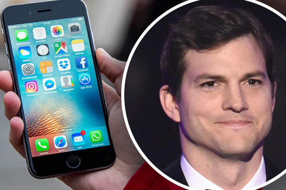 Ashton Kutcher steigt mit seiner Firma als Investor ein. (Bildmontage)