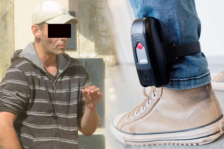 Sextäter wollte in den Knast zurück: Elektronische Fußfessel abgeschnitten