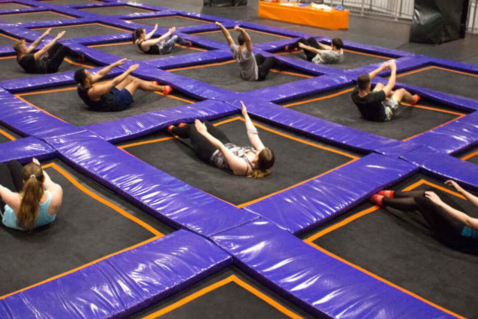 Die Übungen beim FitJUMP beanspruchen nahezu alle Körperpartien.