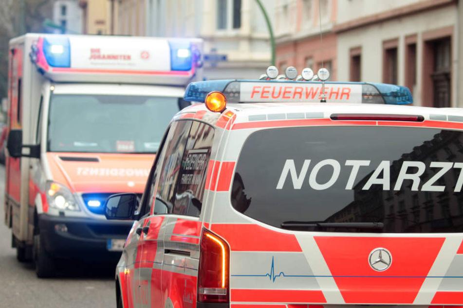 In Dresden Striesen wurde ein Motorradfahrer bei einem Unfall schwer verletzt. (Symbolbild)