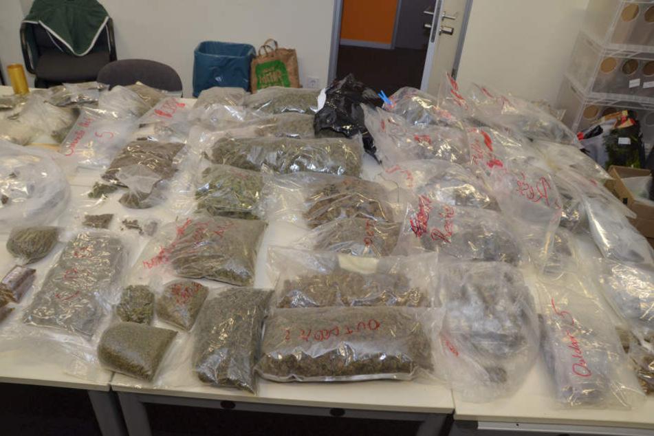 Drogen aus dem Darknet: 18 Dealer im Visier der Ermittler