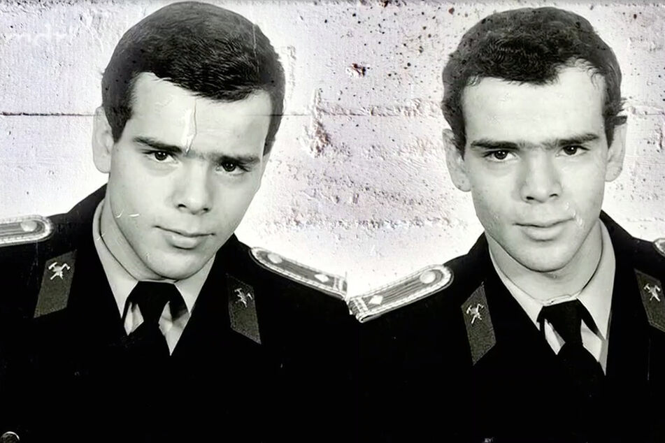 Die Zwillinge Jörg und Reinhard Steffler wurden 1986 im Einsatz getrennt.