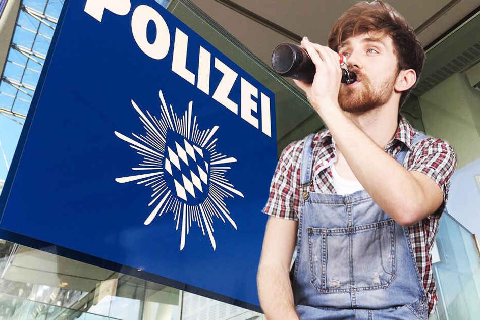 Dumme Idee: Betrunken zur Polizei... (Symbolbild)
