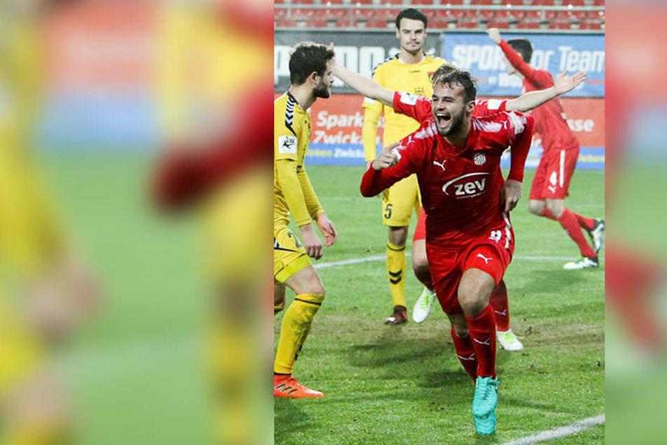 Fabian Eisele konnte sich zuletzt über vier Treffer freuen.
