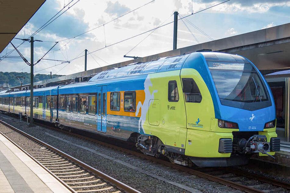 Die Westfalenbahn stellt ihre Fahrgäste auf Ersatzbusse und Fahrplanänderungen ein. (Symbolfoto)
