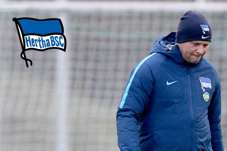 Nach letztem Platz im Telekom-Cup: Droht Hertha der Rückrunden-Fehlstart?