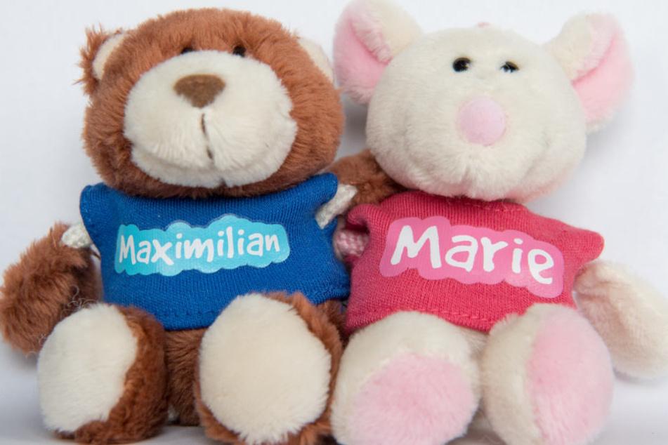 Die Namen Maximilian und Marie sind Spitzenreiter.
