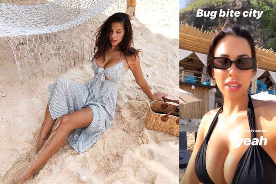 Wo lässt Busenwunder Devin hier ihre Brüste wackeln?