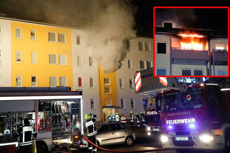 Leiche nach verheerendem Wohnungsbrand gefunden
