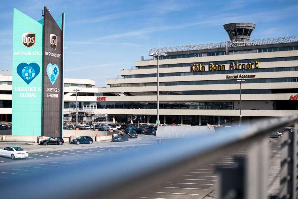 Der Flughafen Köln/Bonn.