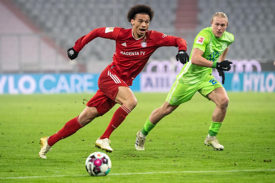Leroy Sane (24, izquierda) sigue buscando su forma en el FC Bayern de Múnich después de que Sebner entrara en estrés.