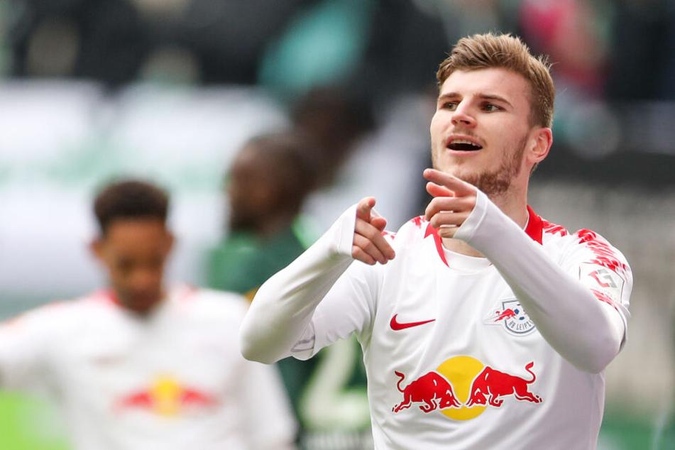 Auch ohne Vertragsverlängerung: Timo Werner soll in der kommenden Saison weiter als Stammspieler bei RB Leipzig agieren.