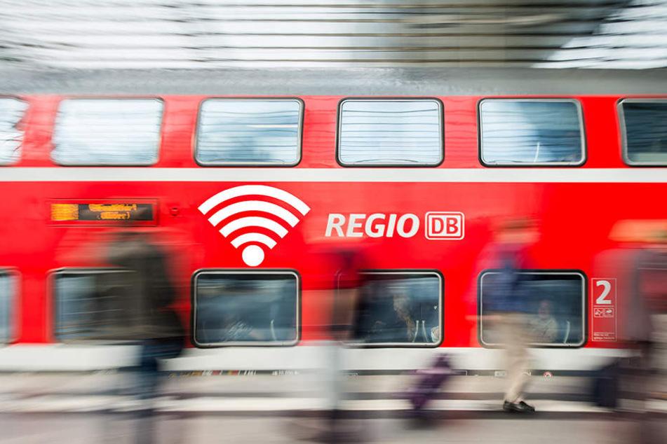 Starker Rauch sorgte dafür, dass 400 Fahrgäste in einen anderen Zug umsteigen mussten. (Symbolfoto)