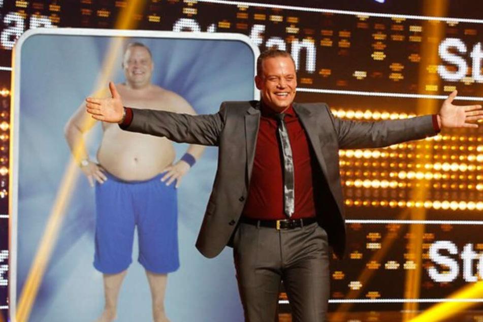 Stefan Pries-Schloh freut sich über seine verlorenen Pfunde.