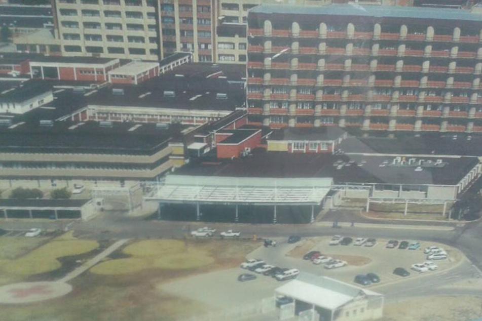 Im Pelonomi Tertiary Hospital versuchte der Mann, die junge Ärztin zu vergewaltigen.
