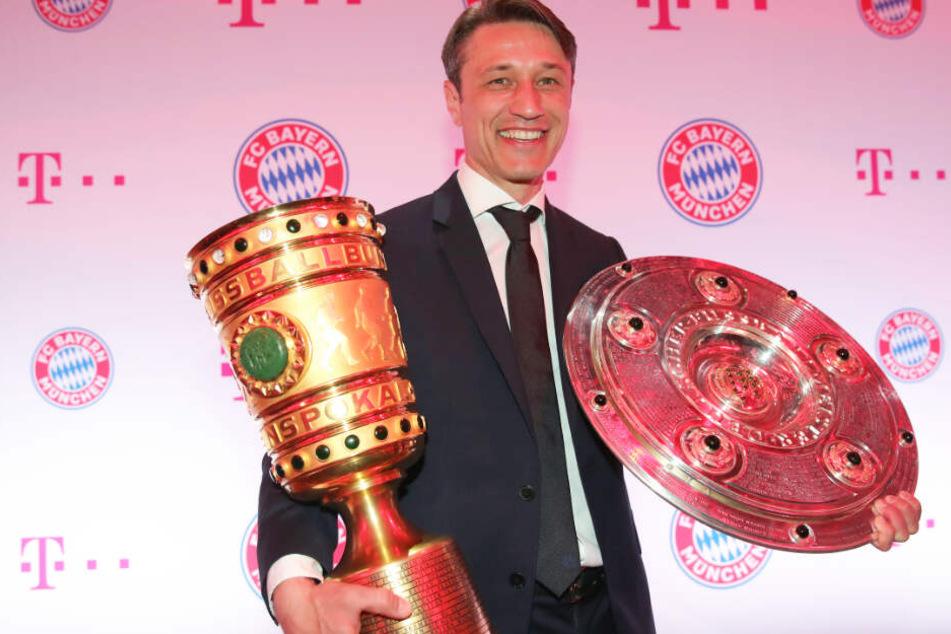 Niko Kovac konnte mit dem FC Bayern München das Double aus Liga und Pokal gewinnen.