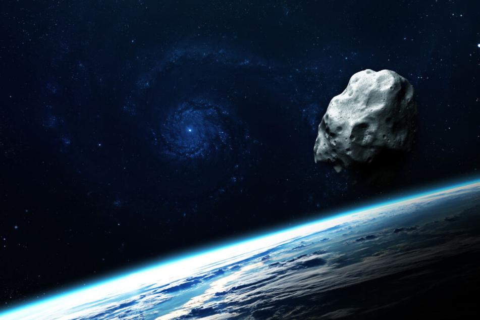 Der Asteroid 2013 MD8 rauscht heute an der Erde vorbei. (Symbolbild)