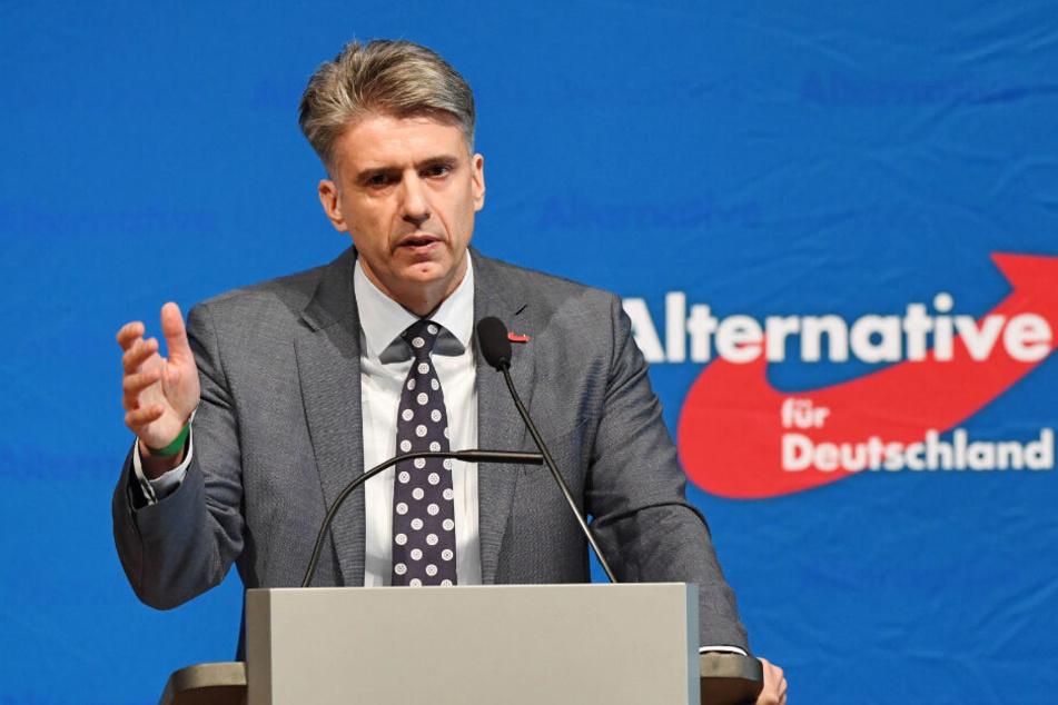 AfD-Landeschef von Baden-Württemberg, Marc Jongen, will nicht mehr zur Wahl antreten.