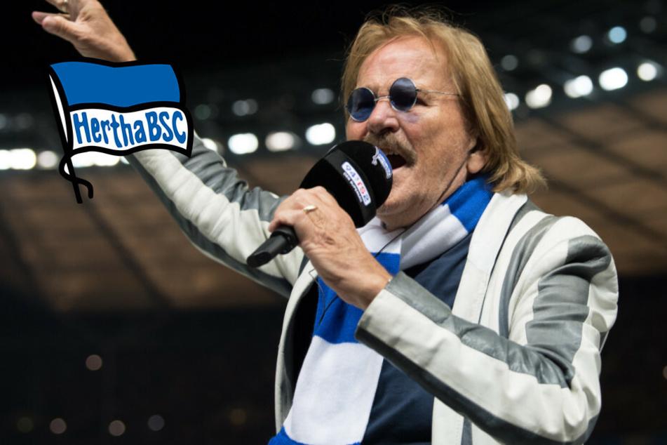 """""""Nur nach draußen"""": Frank Zander dichtet Hertha-Hymne um"""