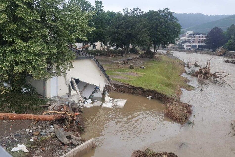 Die Eindrücke aus Ahrweiler - nur einem vom Hochwasser betroffenen Ort - sind schwer zu beschreiben.
