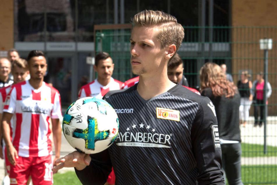 Daniel Mesenhöler (22) wird in der Saison 2018/19 nicht mehr das Trikot von Union Berlin tragen.