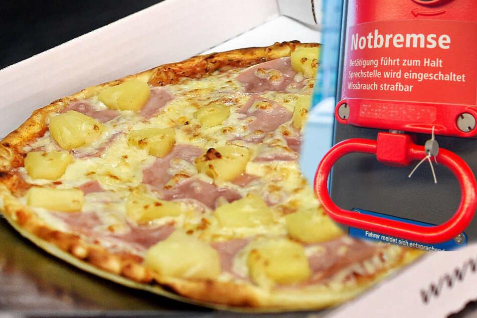 Eine Pizza war Schuld an der ganzen Aufregung. (Symbolbild)