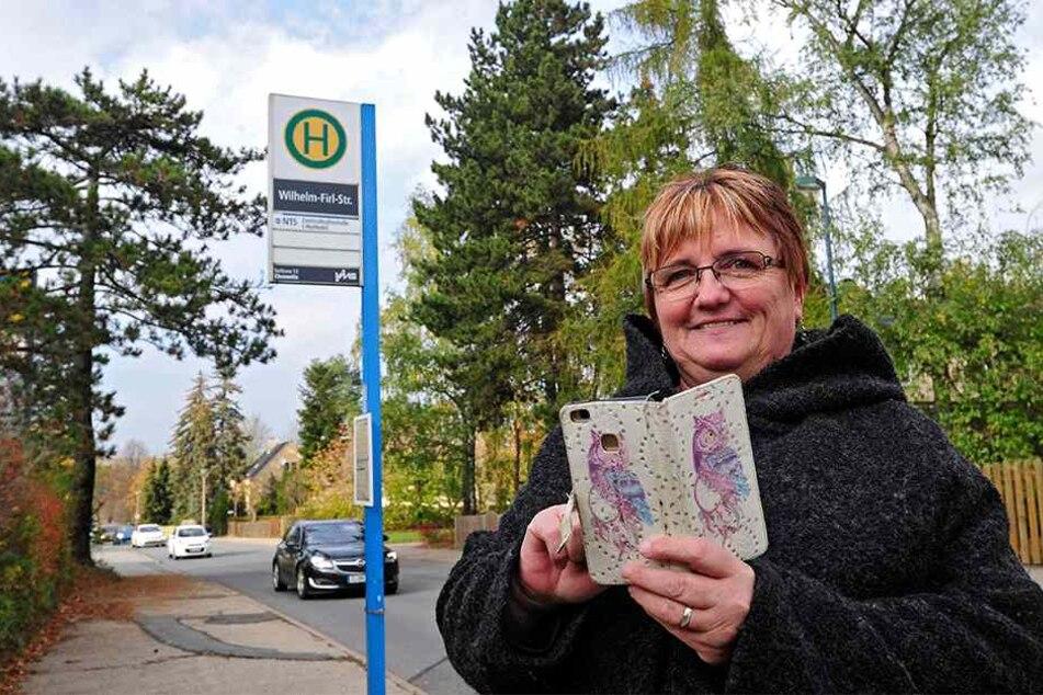 Stadträtin Angela Müller (55, Linke).