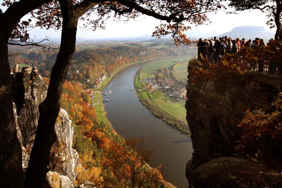Die Sächsische Schweiz gehört zu den beliebtesten Ausflugszielen in Sachsen.