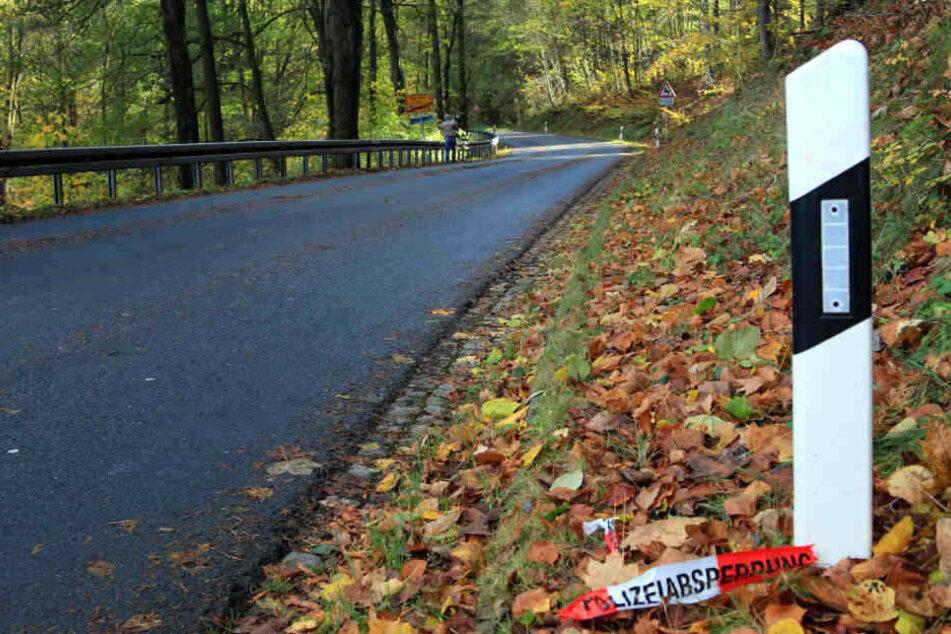 Auf einer Landstraße geriet der Autofahrer ins Schleudern und raste gegen einen Baum. (Symbolbild)