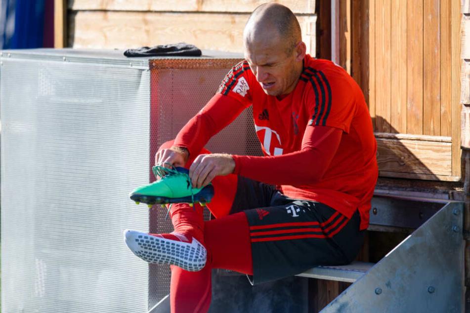 Arjen Robben kann aktuell nicht für den FC Bayern München auf dem Feld stehen.