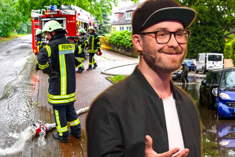 Unwetter im Norden: Überflutungen, Feuerwehreinsätze und Konzerte auf der Kippe!