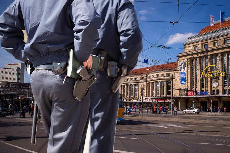 Der Mann behauptete, vor dem Leipziger Hauptbahnhof angeschossen worden zu sein. Die Ermittlungen der Kripo ergaben etwas anderes. (Symbolbild)