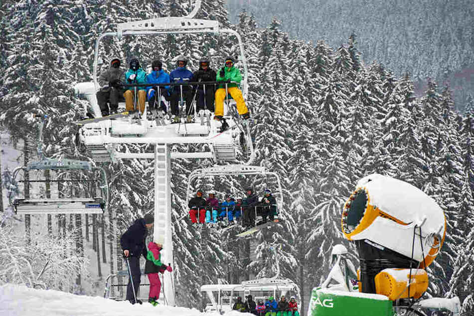 In Winterberg stieg die Zahl der Gäste um 7,7 Prozent.