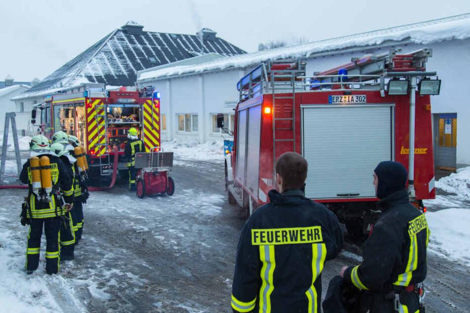 Mehr Geld für die Feuerwehren im Erzgebirgskreis: 2017 und 2018 erhalten sie  jeweils knapp zwei Millionen Euro vom Freistaat.